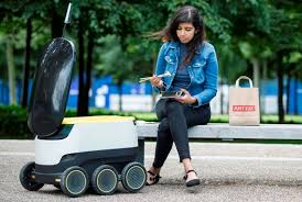 Image result for Starship Technologies delivery robot  picture