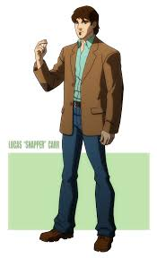 young justice mr tawny unused by jerome k moore on young justice lucas snapper carr by jerome k moore