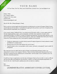 Cover Letter Examples For Executive Assistant  cover letter admin      Administrative assistant cover letter template