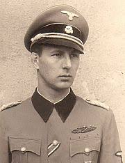 Obergruppenführer Hermann Otto Fegelein (30 October 1906 - 29 April 1945 ?), the senior officer of the Waffen-SS in Nazi Germany, a member of Adolf Hitler's ... - Fegelein