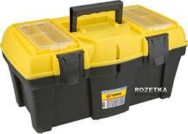 ROZETKA | <b>Ящик для инструмента TOPEX</b> с лотками 22'' (79R126 ...