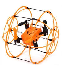 <b>Радиоуправляемый квадрокоптер</b> с защитной сеткой <b>SkyWalker</b> ...