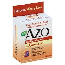 Azo <b>Bladder Control With Go-Less</b> 54 Capsules - Harmon Face Values