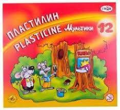 Пластилин 12цв 240гр цв <b>№1 School</b> Шустрики 1/16 - <b>Канцелярия</b> ...