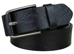 Bullko Men's <b>Casual Genuine</b> Leather Dress Belt For Jeans 1 1/2 at ...