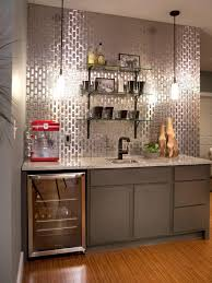basement bar ideas and designs pictures options tips home shiny area with wine freezer reflective back back bar lighting