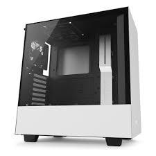 <b>Корпус NZXT H500</b> Window WHITE/Black CA-H500B-W1 — купить ...