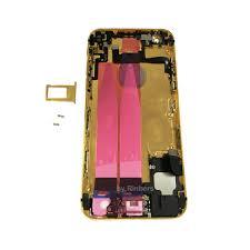compare prices on edit logo online shopping buy low price untuk iphone 6 4 7 24 k 24kt 24ct emas edisi terbatas penuh dirakit kembali belakang