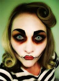 makeup it might be 15 scary doll make up looks ideas