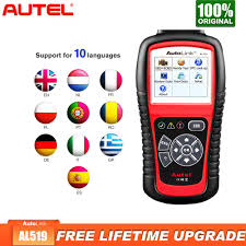 <b>Autel AL519 OBD2 Scanner</b> Diagnostic Tool Car Code Reader ...