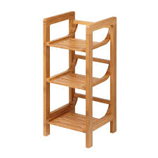 image quarter bamboo bathroom stool alternate image  quarter towel stand alternate image