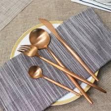 Gold <b>Cutlery</b> Set