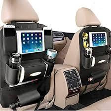PALMOO Pu Leather Car Seat Back Organizer and ... - Amazon.com