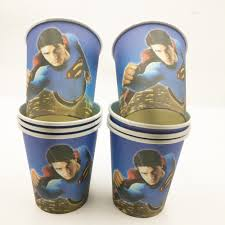 Paper <b>Cups Superman</b> / Disposable Birthday Party <b>Cups</b> ₱25 7 sold