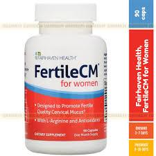 Fairhaven Health, <b>FertileCM for Women</b>, <b>90</b> Capsules | Shopee ...