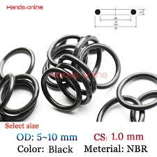10pcs/lot <b>OD</b> 5/5.2/5.5/6/6.5/7/7.5/8/9/9.5/10 mm O rings O Ring oil ...
