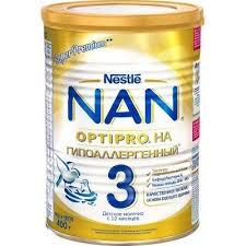 Молочная <b>смесь NAN 3</b> Optipro HA <b>Гипоаллергенный</b> с 12 мес ...