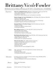 fashion resume templates sample job and resume template fashion resume templates sample