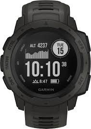 <b>Garmin Instinct</b> Smartwatch Fiber-Reinforced Polymer Graphite with ...