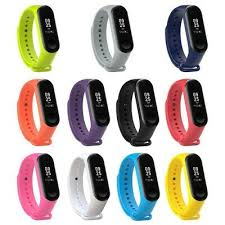 For Xiaomi Mi <b>Band</b> 3 <b>Silicone Strap Band Wristband</b> Watch ...