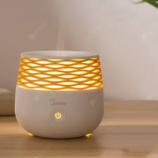 Midea W702 Smart Fragrance Lamp Ultrasonic <b>Aroma Humidifier</b> ...