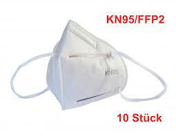 Face <b>Protective Mask KN95</b> / FFP2 - <b>10 pcs</b>.