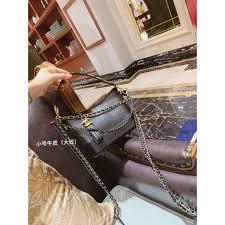 Chanel <b>2019 new</b> Gabrielle <b>crocodile pattern</b> wandering bag ...