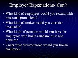 good employment skills personal qualities needed on the job  what kind of employees would you reward raises
