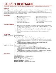 sample online instructor resume