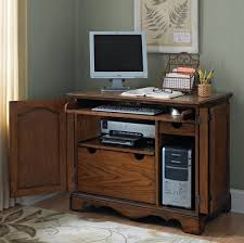 amazing computer desk small spaces solid teak wood small computer desk design and also cool rug amazing small work office