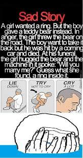 Sad Love Story by junaid786 - Meme Center via Relatably.com
