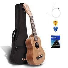 QStyle Concert Ukulele 21 Inch - Ukeleles for kids ... - Amazon.com