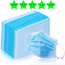 In Stock now 10/40/<b>100pcs Masks 3</b> Ply Nonwoven <b>Disposable</b> ...