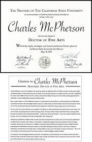 honorary degree charles mcpherson chabbs 3 middot diploma thumbnail
