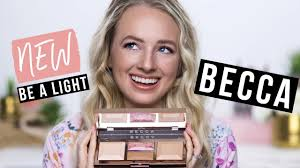 <b>Becca</b> Be A <b>Light</b> Face Palette Review - YouTube