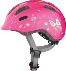 <b>Abus</b> детский велосипедный <b>шлем Smiley 2.0</b> розовый с ...
