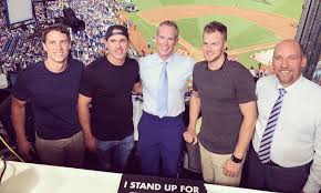 Brooks Koepka met up with Joe Buck in the All-Star Game booth