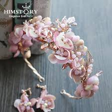 2019 Himstory <b>Handmade Romantic Princess Wedding</b> Hairband ...