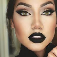 black lipstick is perfect for but its being the 39 in look 39 at the moment be brave and try it this is such a gorgeous exle