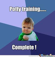 Potty Training Baby by musarocks - Meme Center via Relatably.com