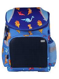 Школьный <b>рюкзак UPIXEL Super Class</b> Динозаврики - синий ...