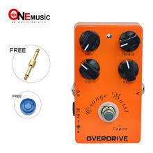 Caline CP-18 <b>Orange</b> Overdrive Pre AMP <b>Педаль эффектов</b> для ...