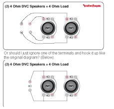 dvc subwoofer wiring dvc image wiring diagram bridge 2 subwoofers wiring diagram bridge wiring diagrams on dvc subwoofer wiring