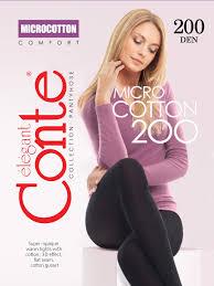 <b>Колготки</b> женские <b>Conte Elegant</b> MICROCOTTON 200