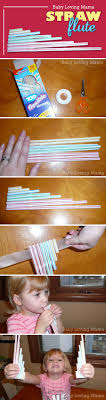 best ideas about babysitting activities homemade straw flute