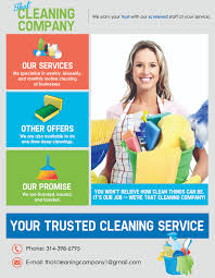 our flyer that cleaning company our flyer