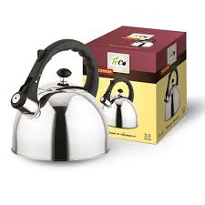 Teapot TECO 3 l. with a whistle, stainless steel steel TC-118 | OLMA ...