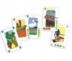 <b>Djeco</b> Детская настольная карточная <b>игра</b> Зоопарк 5188