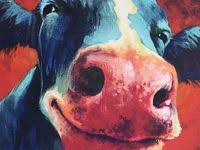 Живопись с коровой: лучшие изображения (24) в 2020 г ...
