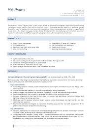 Manufacturing Engineer Resume Sample Production Engineering Resume Sample
